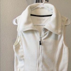 Brand new Calvin Klein cowl neck fleece vest